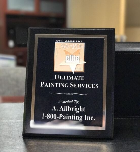 élite Magazine's 2016 Ultimate Painting Services Award