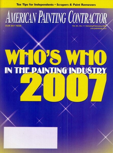 American Painting Contractor Magazine Cover