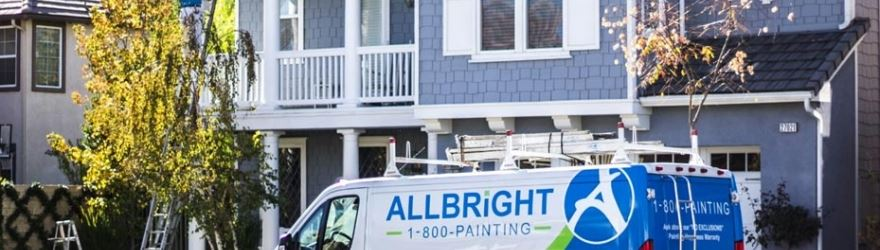 ALLBRiGHT Truck in Front of House